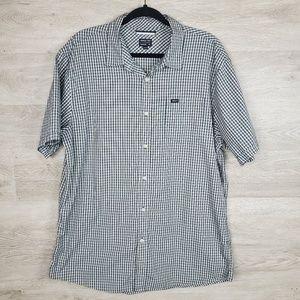 RVCA Button up Camp shirt Size XL